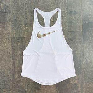 Nike Flow Metallic Tank Light Purple